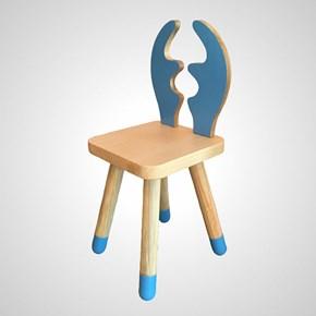 Chapelet Masif Ahşap Çocuk Sandalyesi Geyik - CHA02SNGE görseli