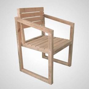 Muguet Masif Ahşap Sandalye- MUG01SN görseli