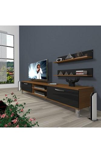 Eko 4 Mdf Dvd Krom Ayaklı Tv Ünitesi - DA01TV06 görseli, Picture 5