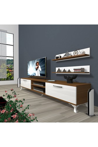 Eko 4 Mdf Dvd Rustik Tv Ünitesi - DA01TV08 görseli, Picture 4