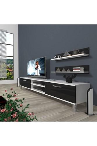 Eko 4 Slm Dvd Krom Ayaklı Tv Ünitesi - DA01TV14 görseli, Picture 2