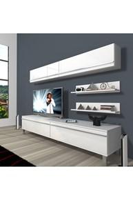 Eko 5 Mdf Std Krom Ayaklı Tv Ünitesi - DA02TV02 görseli