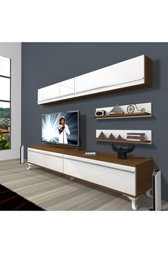 Eko 5 Mdf Std Rustik Tv Ünitesi - DA02TV04 görseli, Picture 4