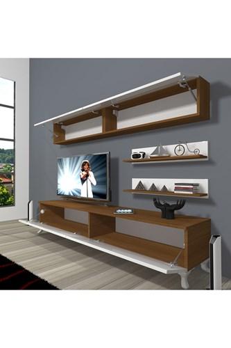 Eko 5 Mdf Std Rustik Tv Ünitesi - DA02TV04 görseli, Picture 5