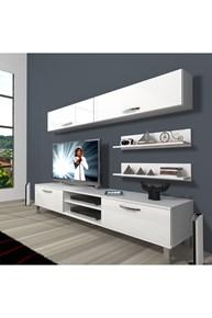 Eko 5 Mdf Dvd Krom Ayaklı Tv Ünitesi - DA02TV06 görseli