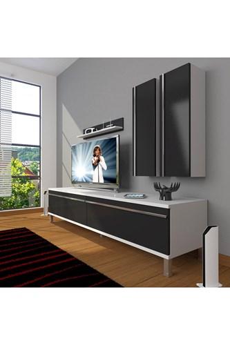 Eko 5d Mdf Std Krom Ayaklı Tv Ünitesi - DA03TV02 görseli, Picture 2