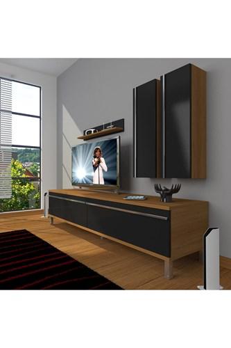 Eko 5d Mdf Std Krom Ayaklı Tv Ünitesi - DA03TV02 görseli, Picture 5