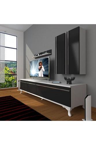 Eko 5d Mdf Std Rustik Tv Ünitesi - DA03TV04 görseli, Picture 2