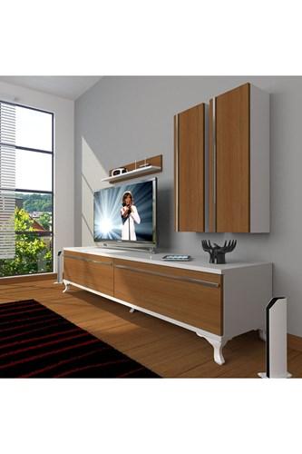 Eko 5d Mdf Std Rustik Tv Ünitesi - DA03TV04 görseli, Picture 3