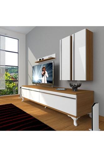 Eko 5d Mdf Std Rustik Tv Ünitesi - DA03TV04 görseli, Picture 4