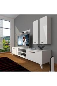 Eko 5d Mdf Dvd Retro Tv Ünitesi - DA03TV07 görseli