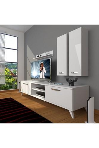 Eko 5d Mdf Dvd Retro Tv Ünitesi - DA03TV07 görseli, Picture 1