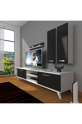Eko 5d Mdf Dvd Retro Tv Ünitesi - DA03TV07 görseli, Picture 2