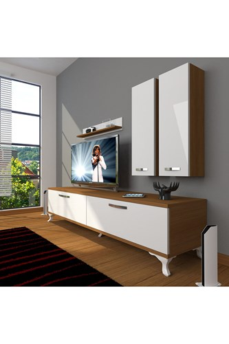 Eko 5d Slm Std Rustik Tv Ünitesi - DA03TV12 görseli, Picture 4