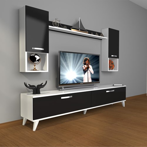 Eko 5da Mdf Std Retro Tv Ünitesi - DA04TV03 görseli, Picture 2