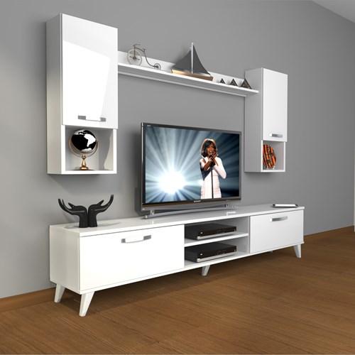 Eko 5da Mdf Dvd Retro Tv Ünitesi - DA04TV07 görseli, Picture 1