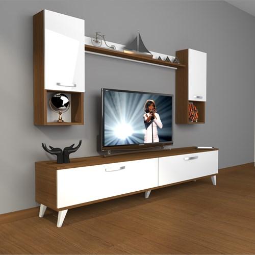 Eko 5da Mdf Dvd Retro Tv Ünitesi - DA04TV07 görseli, Picture 4