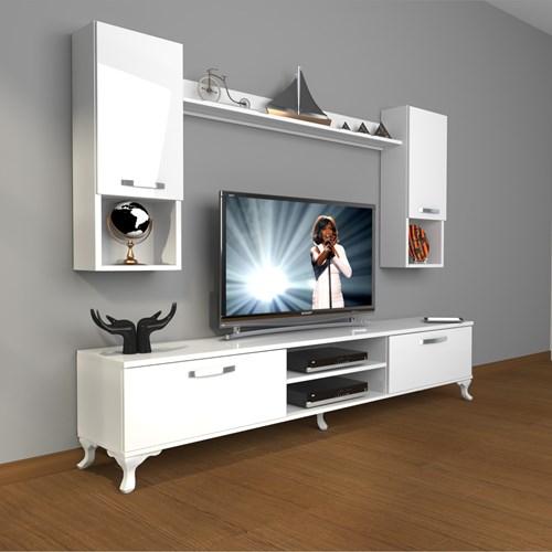 Eko 5da Mdf Dvd Rustik Tv Ünitesi - DA04TV08 görseli, Picture 1