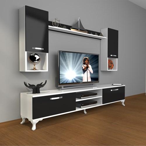 Eko 5da Mdf Dvd Rustik Tv Ünitesi - DA04TV08 görseli, Picture 2