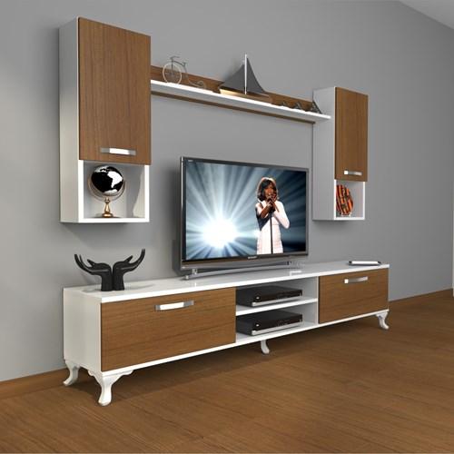 Eko 5da Mdf Dvd Rustik Tv Ünitesi - DA04TV08 görseli, Picture 3