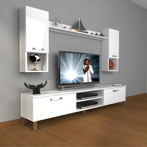 Eko 5da Slm Dvd Krom Ayaklı Tv Ünitesi - DA04TV14 görseli, Picture 1