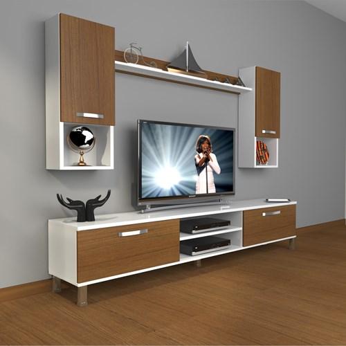 Eko 5da Slm Dvd Krom Ayaklı Tv Ünitesi - DA04TV14 görseli, Picture 3