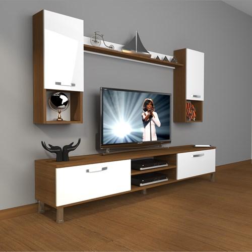 Eko 5da Slm Dvd Krom Ayaklı Tv Ünitesi - DA04TV14 görseli, Picture 4