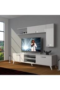Eko 5l Mdf Dvd Retro Tv Ünitesi - DA05TV07 görseli
