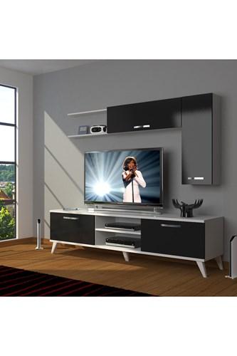 Eko 5l Mdf Dvd Retro Tv Ünitesi - DA05TV07 görseli, Picture 2