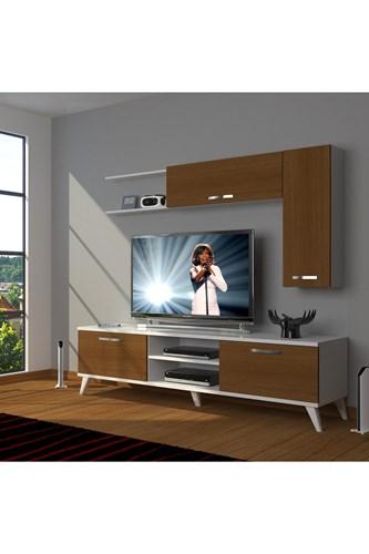 Eko 5l Mdf Dvd Retro Tv Ünitesi - DA05TV07 görseli, Picture 3