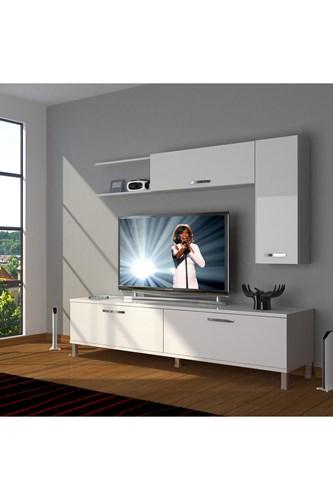 Eko 5l Slm Std Krom Ayaklı Tv Ünitesi - DA05TV10 görseli, Picture 1