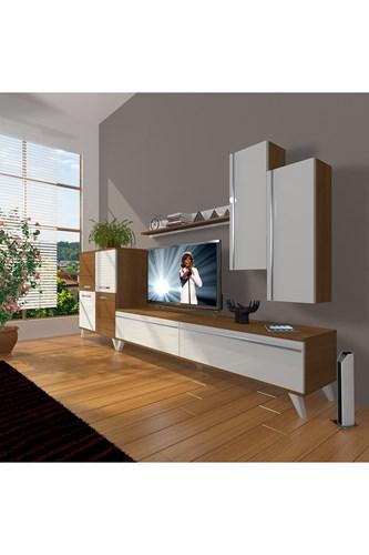 Eko 6 Mdf Std Retro Tv Ünitesi - DA06TV03 görseli, Picture 4