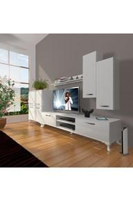 Eko 6 Mdf Dvd Rustik Tv Ünitesi - DA06TV08 görseli