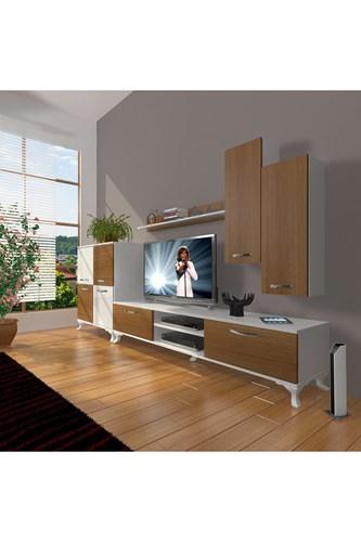 Eko 6 Mdf Dvd Rustik Tv Ünitesi - DA06TV08 görseli, Picture 3