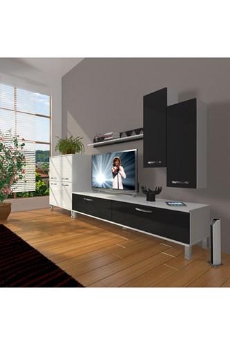 Eko 6 Slm Std Krom Ayaklı Tv Ünitesi - DA06TV10 görseli, Picture 2