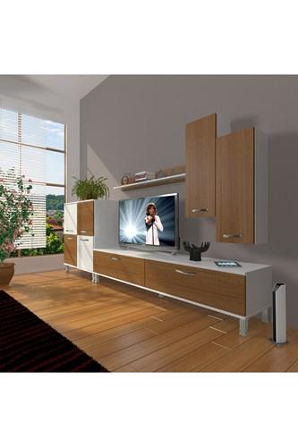Eko 6 Slm Std Krom Ayaklı Tv Ünitesi - DA06TV10 görseli, Picture 3