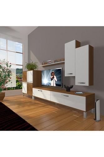 Eko 6 Slm Std Krom Ayaklı Tv Ünitesi - DA06TV10 görseli, Picture 4