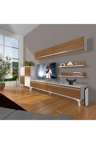 Eko 6y Mdf Std Rustik Tv Ünitesi - DA07TV04 görseli, Picture 3