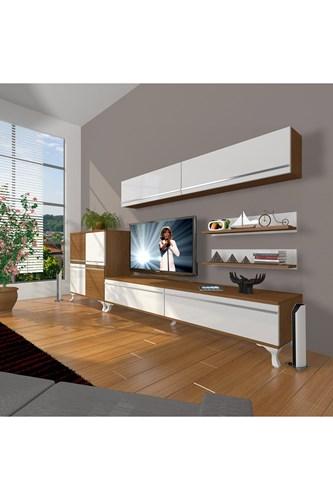 Eko 6y Mdf Std Rustik Tv Ünitesi - DA07TV04 görseli, Picture 4