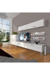 Eko 6y Slm Std Krom Ayaklı Tv Ünitesi - DA07TV10 görseli