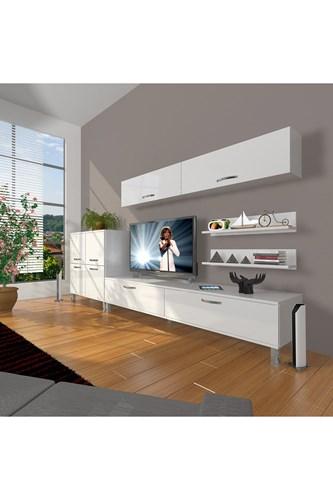 Eko 6y Slm Std Krom Ayaklı Tv Ünitesi - DA07TV10 görseli, Picture 1