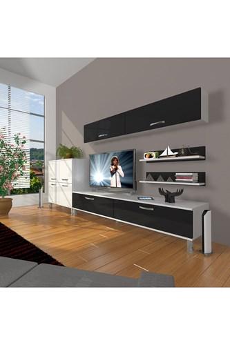 Eko 6y Slm Std Krom Ayaklı Tv Ünitesi - DA07TV10 görseli, Picture 2