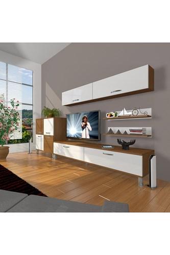 Eko 6y Slm Std Krom Ayaklı Tv Ünitesi - DA07TV10 görseli, Picture 4