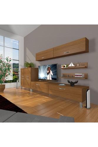 Eko 6y Slm Std Krom Ayaklı Tv Ünitesi - DA07TV10 görseli, Picture 6