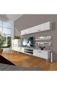 Eko 6y Slm Dvd Krom Ayaklı Tv Ünitesi - DA07TV14 görseli