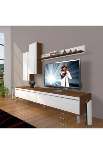 Eko 7 Mdf Std Krom Ayaklı Tv Ünitesi - DA08TV02 görseli, Picture 4