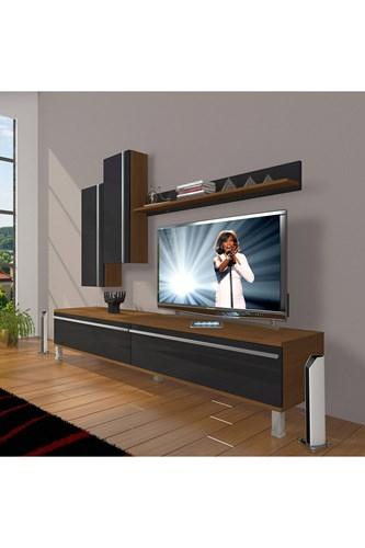 Eko 7 Mdf Std Krom Ayaklı Tv Ünitesi - DA08TV02 görseli, Picture 5