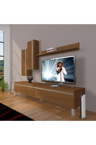 Eko 7 Mdf Std Krom Ayaklı Tv Ünitesi - DA08TV02 görseli, Picture 6