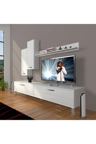 Eko 7 Slm Std Krom Ayaklı Tv Ünitesi - DA08TV10 görseli, Picture 1