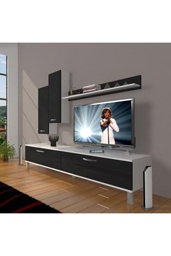 Eko 7 Slm Std Krom Ayaklı Tv Ünitesi - DA08TV10 görseli, Picture 2